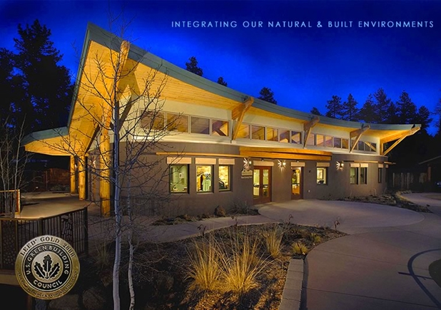 LEED-Gold, James Environmental Learning Center, designed by architect, Matthew B. Ackerman, LEED-AP AIA, Catalyst Architecture, Prescott, AZ